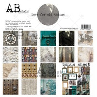 """""""Love for old things""""-scrapbooking paper set 8x 12'x12' ..."""