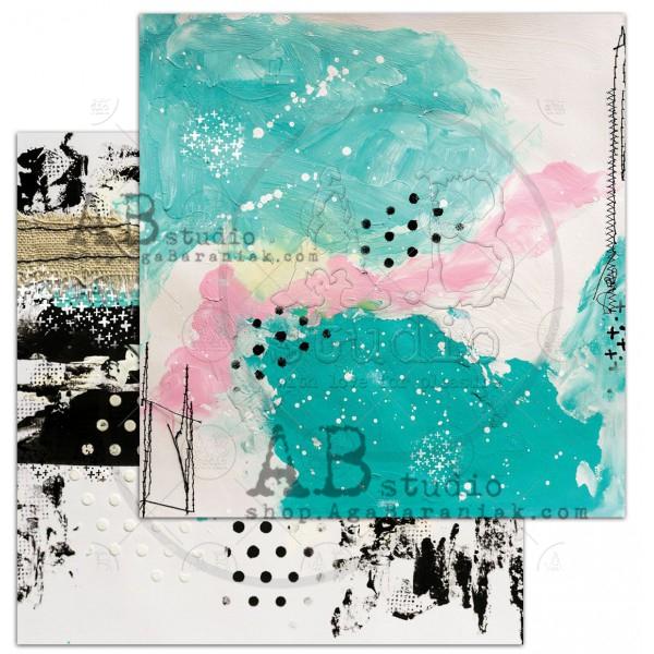 """May day""-scrapbooking paper set 8x 12'x12' + bonus page"