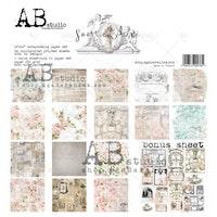 """Somewhere""- scrapbooking paper set 8x 12'x12' + bonus"