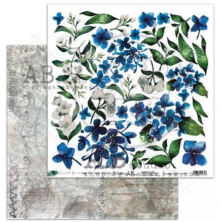 """""""Emerald Queen"""" scrapbooking paper set 8x 12'x12' + bonus"""