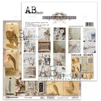 """Rustical journey""- scrapbooking paper set 8x 12'x12' + ..."