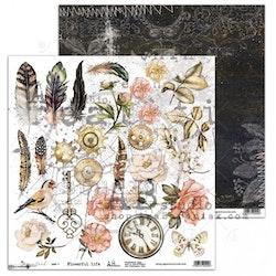 Dreamland - Paper set 8x 12'x12' + bonus