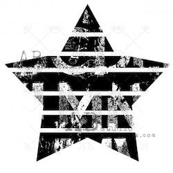 """Stämpel ID-756 """"a star"""""""