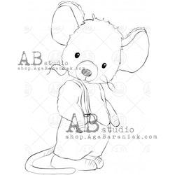 """Stämpel """"mouse"""" ID-693"""