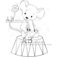 """Stämpel """"mouse"""" ID-694"""