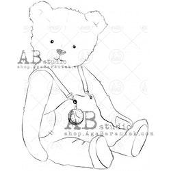 """Stämpel """"bear"""" ID-683"""