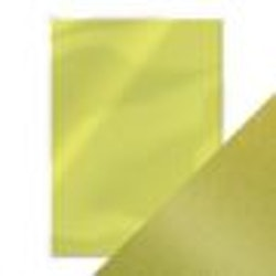 Tonic pearlescent card - lime light 5 sh A4