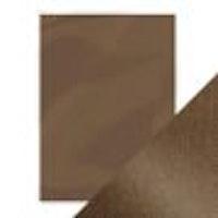 Tonic pearlescent card - glazed chesnut 5 sh A4