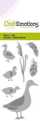 CraftEmotions Die - duck with little ducks