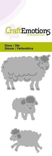 CraftEmotions Die - sheep with lambs fantasy