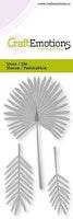 CraftEmotions Die - fan palm