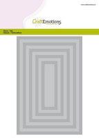 CraftEmotions Big Nesting Die - rectangles