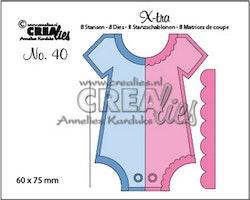 Crealies X-tra no. 40 Onesie (Medium)