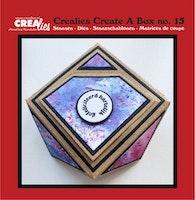 Crealies Create A Box no. 15 Juwelry box