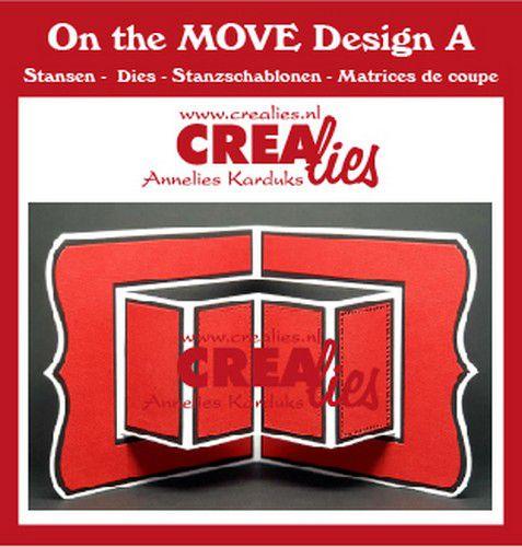 Crealies On The Move Design A