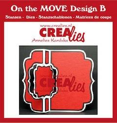 Crealies On The Move Design B Swing along