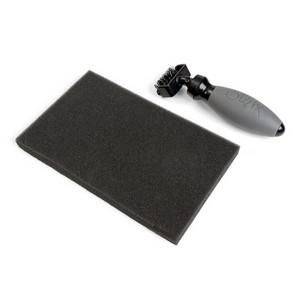 Sizzix Accessory - Die brush & foam pad for Wafer Thin Dies