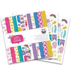 """Piatek13 - Paper pad Girl Gang 12x12"""""""