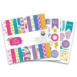 """Piatek13 - Paper pad Girl Gang 6x6"""""""