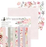 """Piatek13 - Paper pad Love in Bloom 6"""""""