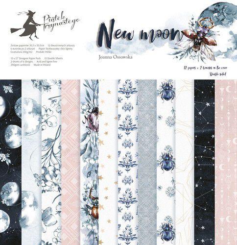 "Piatek13 - Paper pad New moon 12"""