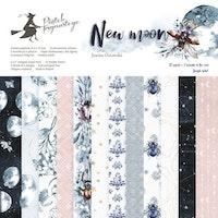 "Piatek13 - Paper pad New moon 6"""