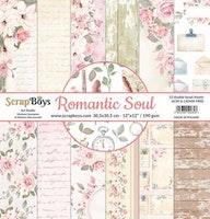 ScrapBoys Romantic Soul paperset 12 sh+cut out elements