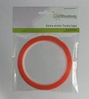 CraftEmotions Extra sticky tape 9 mm 10 MT 1 RL