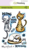 CraftEmotions clearstamps A6 - Odey & Friends 2 Carla ...