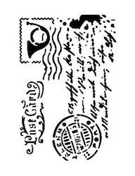 Cadence Mask Stencil AS - postcard