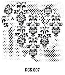 Cadence Mask Stencil GCSM - Grunch ornament 7