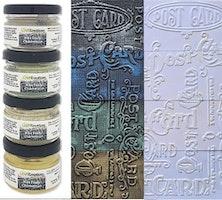 CraftEmotions Wax Paste chameleon 1 4x20 ml