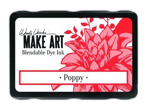 Ranger MAKE ART Dye Ink Pad Poppy