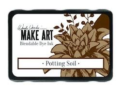 Ranger MAKE ART Dye Ink Pad Potting Soil