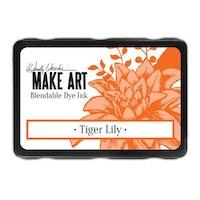 Ranger MAKE ART Dye Ink Pad Tiger Lily