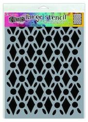 Ranger Dylusions Stencils Fancy Floor - Large DYS71501
