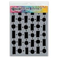 Ranger Dylusions Stencils Retro - Large DYS68716