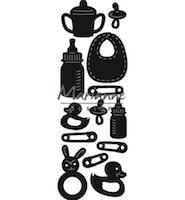 Marianne Design Craftable Punch die Baby items