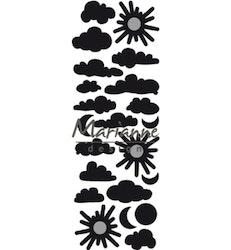 Marianne Design Craftable Punch die Clouds