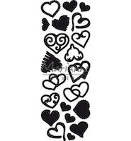 Marianne Design Craftable Punch die Sweet Hearts
