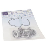 Clear Stamps & Dies - Hetty's Tractor