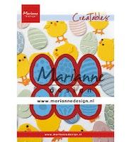 Marianne Design Creatable Easter eggs