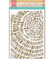 Mask Stencil Tiny's Sliced Wood