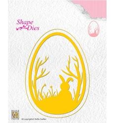Shape Dies Text Easter Egg