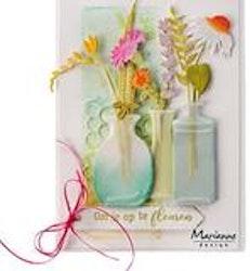 MARIANNE DESIGN CUT/EMB LR0694 Vases