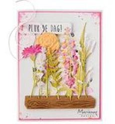 MARIANNE DESIGN CUT/EMB LR0695 Flower Display