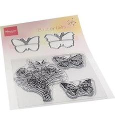 "Marianne Design Clearstamp + Die ""Butterflies"""