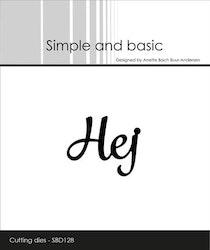"""Simple and Basic die """"Hej"""""""
