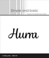 """Simple and Basic die """"Hurra"""""""