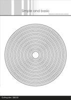 """Simple and Basic die """"Frames - Circle"""""""